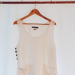 Urban Outfitters Linen Tank - M